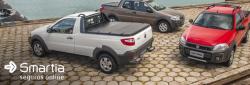 Fiat convoca para recall todas as versões da picape Strada de três portas.