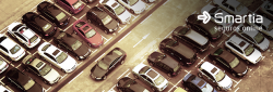 Aplicativo ajuda achar vagas de estacionamento.