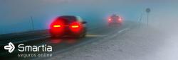 Pegou a estrada com nevoeiro? Veja o que fazer para melhorar a visibilidade