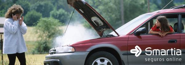 Motor do carro superaquecido